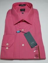 Arrow Classic Fit  Mens Dress Shirt Size 17.5 34/35 Color Guava - $14.99