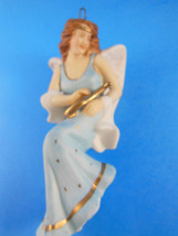 "Hallmark 5"" Angelic Minstrel Porcelain Limited Ed. Christmas Ornament Angel 1988 - $8.41"