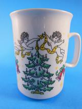 Frohe Weihnachten Merry Christmas in German Coffee Mug - $5.53