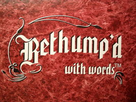 Bethump'd With Words 2000 The Paramount Word Game Sealed Components in Box - $11.99