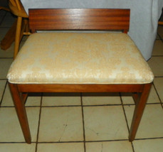 Mahogany Vanity Bench / Vanity Chair  (BN175) - $249.00