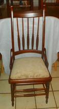 Walnut Spindle Back Desk Chair / Sidechair - $299.00