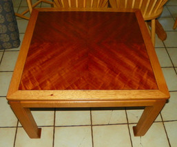 Walnut Ash End Table / Side Table by Lane - $349.00