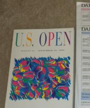 US OPEN TENNIS Tournament complete 200 pg magazine program 1992 NF condi... - $29.00