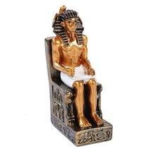 Egyptian Small Khafre Mini Figurine Made of Polyresin - $10.94