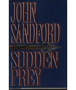 Sudden Prey John Sanford HCDJ First Edition Sus... - $7.99
