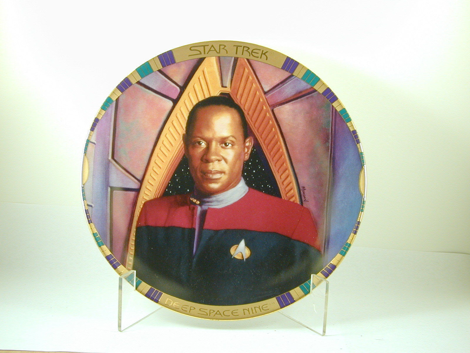 2635 COMMANDER BENJAMIN SISKO Star Trek Deep Space Nine Hamilton Collection
