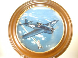 "2644 ""F-6F HELLCAT"" Plate Hamilton Collection of WW II War Planes  nfp - $25.00"