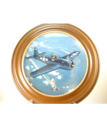 """2644 """"F-6F HELLCAT"""" Plate Hamilton Collection of WW II War Planes  nfp - $25.00"""