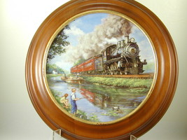 "2639 ""AN AMERICAN CLASSIC"" The Golden Age of American Railroads Hamilton... - $25.00"