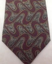 """Giorgio Armani Cravatte, Necktie, 3-1/2""""x60"""", 100% Silk, Italy, Red/Green - $29.99"""