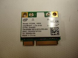 Dell H006K Intel vPRO 512AN_HMW 2700 E6510 E6500 M6400 WiFi Wireless PCI... - $7.85