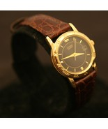 Beautiful, gently used, ladies' gold Citizen quartz calendar dress wristwatch. - $55.00