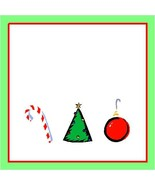 Christmas Jar Label-Digital clipart-Clip Art - $3.00