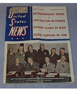 Vintage United States News Magazine December 7, 1945 - $5.00