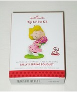 Hallmark Happiness is Peanuts All Year Long Sally's Spring Bouquet Ornament - $14.80