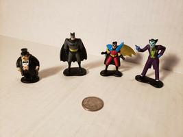 Lot Of 4 Loose DC Figures Batman, Robin, Penguin & Joker DC Comic Hasbro - $13.55
