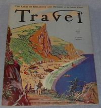 Travel Magazine April 1933 Phoenicia - $13.95