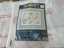 Sunset , Little Ones Birth Record ,  Sewing , Vintage - $12.00