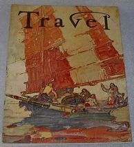 Travel Magazine October 1935 Argentine Jungle - $13.95
