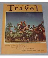 Travel Magazine July 1939 Clippers Ships of Great Lakes - $12.95