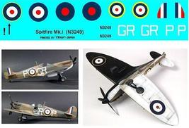 1/144 scale Resin Model Kit Supermarine Spitfire MK I 1939 Asymetrical - $12.00