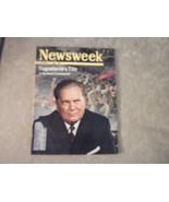 1966 Newsweek complete issue Tito & Yugoslavia; LBJ; LA Dodgers; Space; ... - $24.75