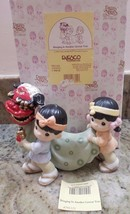 Precious Moments BRINGING IN ANOTHER GRRREAT YEAR figurine with box Japa... - $222.75