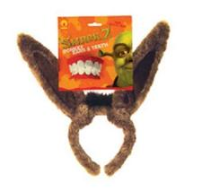 DONKEY EARS AND TEETH Shrek - $10.00