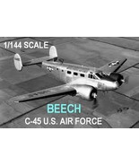 1/144 scale Resin Model Kit Twin Beech 18B C-45 US Air Force - $15.00