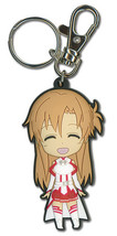 Sword Art Online Chibi Asuna Happy Key Chain GE36751 *NEW* - $8.99