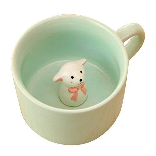 Alien Storehouse Creative Sheep Animal Ceramic Coffee Cup - $19.63