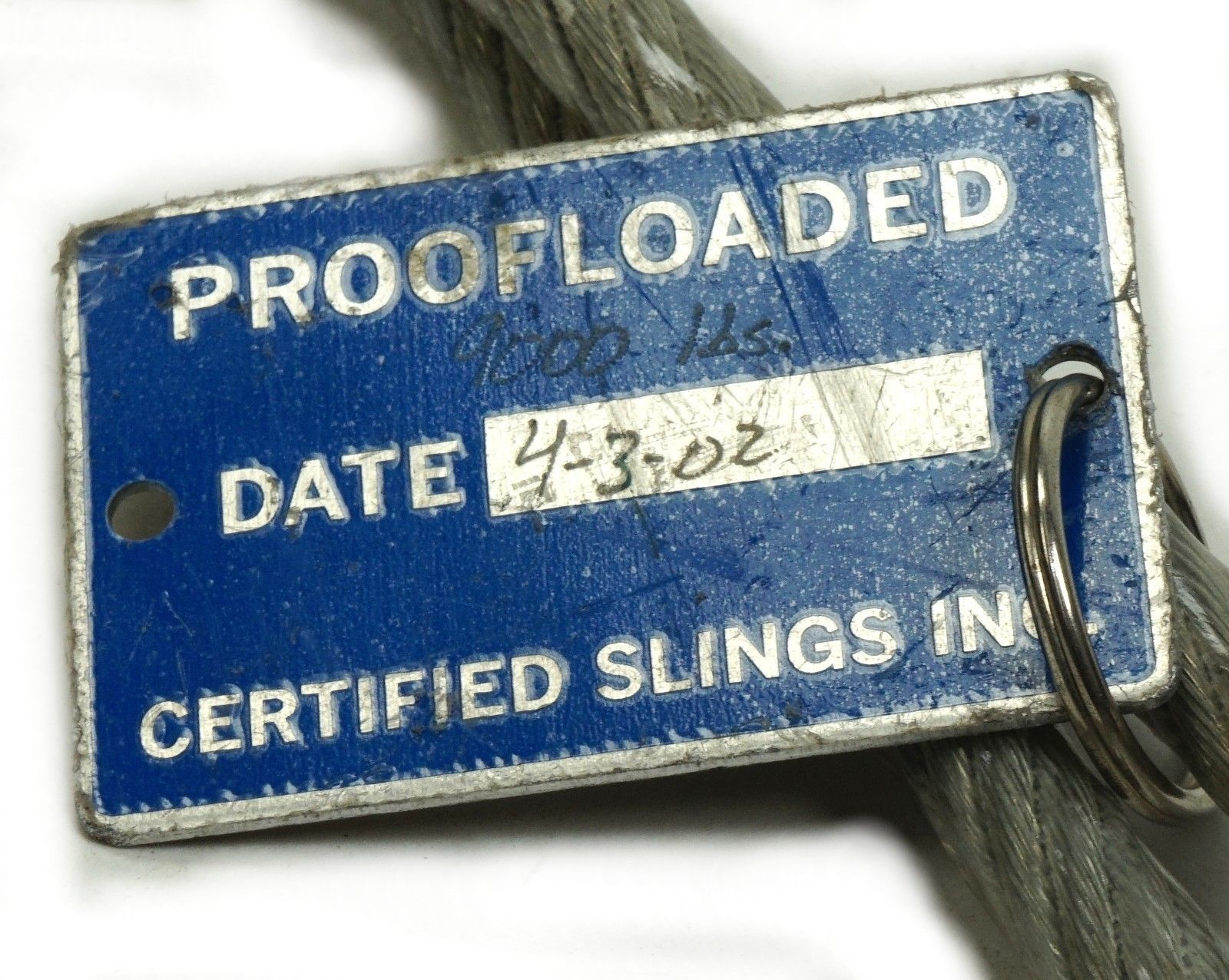 Crosby Steel Cable 2-Leg Bridle Wire Rope and 50 similar items