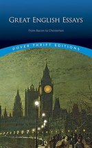 Great English Essays: From Bacon to Chesterton (Dover Thrift Editions) [Paperbac image 1