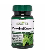 Celery Seed Complex 60tabs Natures Aid - $16.32