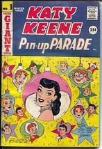 Katy Keene Pin-Up Parade #9 1959-Bill Woggon-fashions-pin-ups-paper doll... - $75.66
