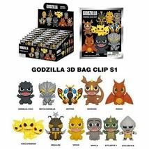 Godzilla 3D Figure Key Chain Clip! - You Choose! - $4.64+