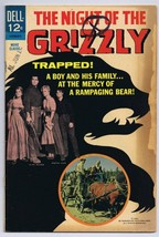 Night of the Grizzly Movie Classics ORIGINAL Vintage 1966 Dell Comics - $9.49