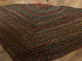 Hand Crocheted Shawl/Wrap - £53.89 GBP