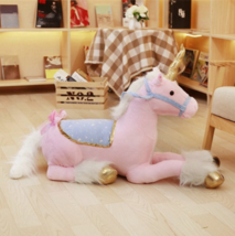 100cm Jumbo White Unicorn Plush Toys Giant Unicorn Stuffed Animal Horse Toy Soft - $61.88