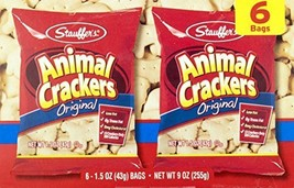 Stauffers Animal Crackers & Iced Animal Cookies Variety Pack (2- 6 count... - $14.64