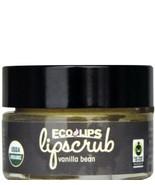 Organic EcoLips Lipscrub Vanilla Bean Sugar Scrub Non GMO - $9.80