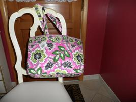 Vera Bradley East West Tote in Priscilla Pink Pattern NWT - $35.00