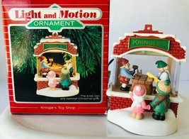 Kringle's Toy Shop 1987 Hallmark Light & Motion Ornament Christmas Holiday - $48.37