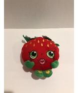 Shopkins Strawberry Kiss  Plush 2013 - $6.35