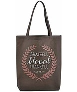 Christian Brands Grateful, Thankful, Blessed Tote Bag - 12/pk - $53.45