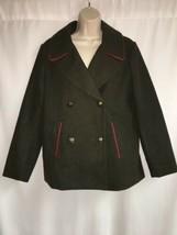 Express Peacoat Seaweed Military Green Large Womens Parka Jacket NWT $148 - $43.54