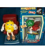 1999, 2001 Mars Rollercoaster, La-z-Boy M&M's Candy Dispensers (1) Seale... - $49.48