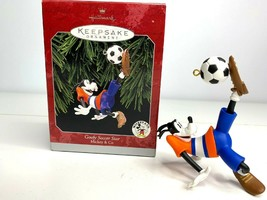 Goofy Soccer Star 1998 Disney Hallmark Ornament Bicycle Kick - $9.28