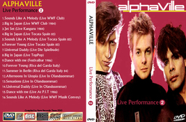 ALPHAVILLE Live Performance Part 2 Bootleg DVD Rare Hard To Find - $22.99